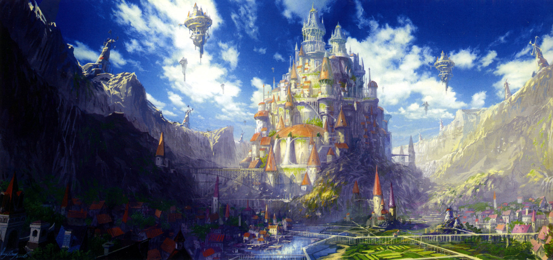 anime_castle_scenery