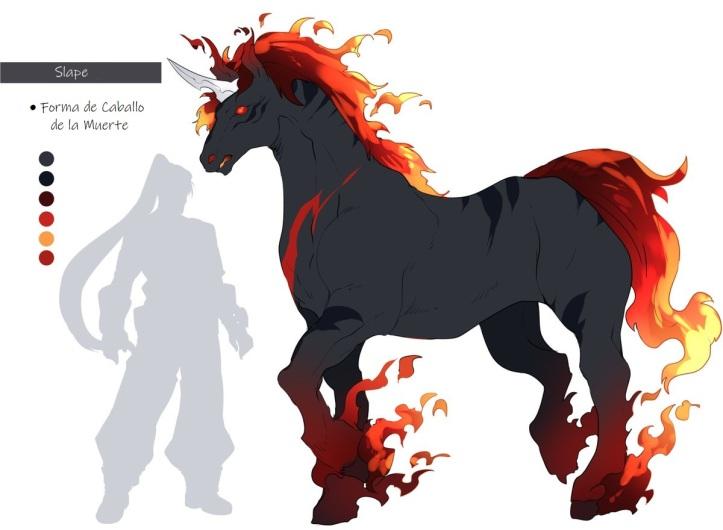 9) slape (caballo demoniaco)
